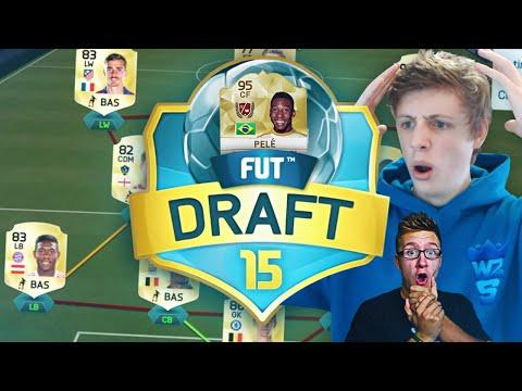 PELE WAGER FIFA 16 FUT DRAFT GAMEMODE ON FIFA 15
