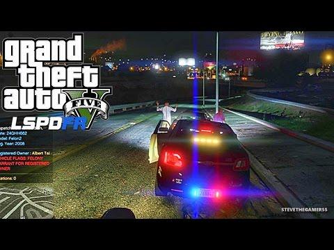 GTA 5 LSPDFR 0.3.1 - EPiSODE 40 - LET'S BE COPS - NIGHT PATROL (GTA 5 PC POLICE MODS)