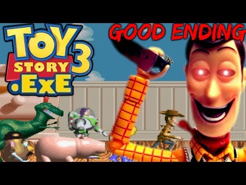 TOY STORY 3.EXE THIS IS YOUR END WOODY.EXE Good Ending & Secret Ending Full Version