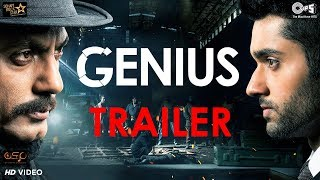 Genius Official Trailer | Utkarsh Sharma, Ishita, Nawazuddin | Anil Sharma | Bollywood Movie 2018