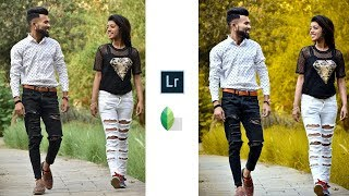 Lightroom CC Color Grading Effect | Photo Effects | Lightroom + Snapseed Editing Tutorial