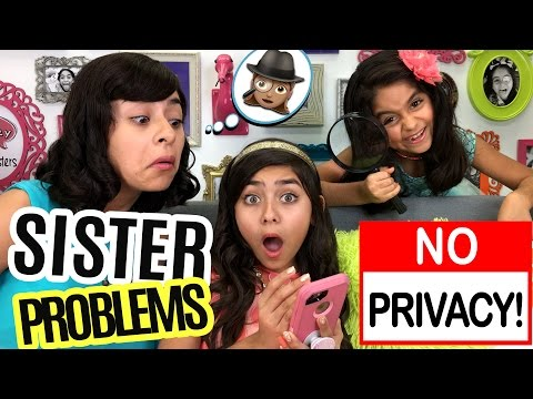 Sister Problems Bad Kids No Privacy SO CHATTY GEM Sisters