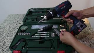 Bosch All-in-One Metal 108 Piece Hand Tool Kit 수공구 개봉