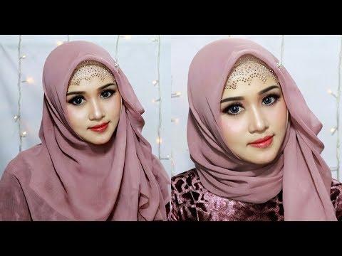 Xxx Mp4 Tutorial Hijab Segi Empat Pesta Syar 39 I Dan Pesta Simple 3gp Sex