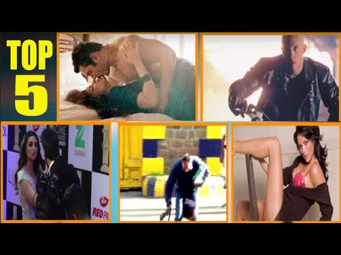 Top 5 | Steamiest Bed Scenes | Ranveer Kissed Parineeti Chopra & More