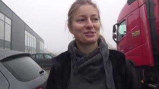 Trucking Girl - SCANIA - załadunek, SCANIA loading ep. 38