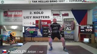 Magdolen Anton (1947), NH2, 105 kg (x)