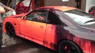 NEW Heat Sensitive Color Changing Kandy Automotive Paint - World's First All Over Job