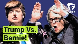 Trump vs. Bernie • Debate for America (Full Special)