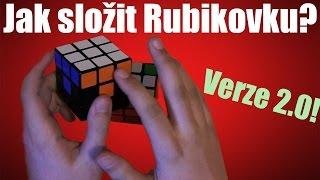 Ještě jednodušší návod jak složit Rubikovu kostku!
