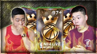 50,000+ NBA CASH KING OF THE COURT PACK OPENING!! UNREAL PULLS FT DHITMAN!! NBA LIVE MOBILE