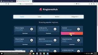 how to download rington