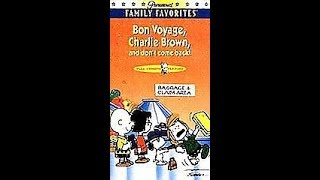Opening To Bon Voyage Charlie Brown (And Don't Come Back!) 1997 VHS