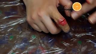 طريقة عمل خدعة الاصبع المكسورة والمعلقة
