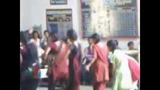 girl dance from k v ballia