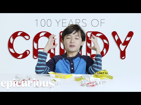 Kids Try 100 Years of Candy Bon Appetit
