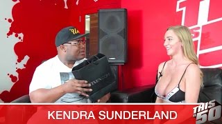 Kendra Sunderland Gives Jack A Lap Dance; Speaks on Open Relationships; Black Men; Power