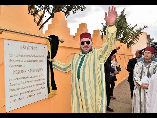 Le Roi rénove et rebaptise la Mosque d'Antsirabe, Madagascar