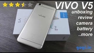 Vivo V5 / V5s review - unboxing, camera quality, battery