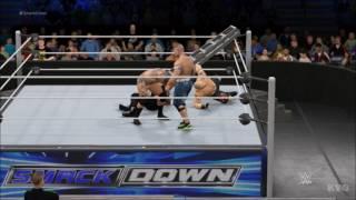 WWE 2K17 - Fatal 4-Way - TLC | John Cena vs Roman Reigns vs Brock Lesnar vs Randy Orton | Gameplay