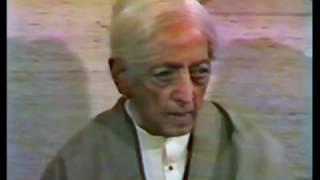 J. Krishnamurti - New Delhi 1981 - Conversation With P. Jayakar And A. Patwardhan