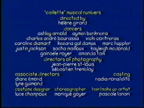 Caillou Ending Credits PBS 2000 .mpg
