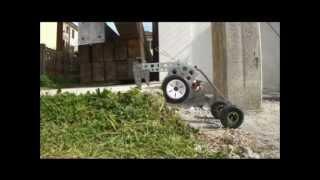 MANTIS: hybrid leg-wheel ground mobile robot
