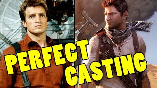 Nathan Fillion To Play Nathan Drake In Uncharted Movie!
