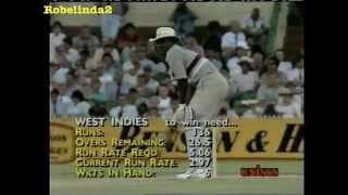 1988/89 Australia vs West Indies 1st FINAL highlights