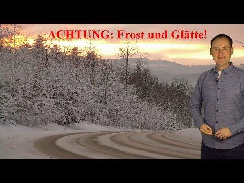 Frost und Schnee sorgen für winterliches Wetter! Doch wie lange? (Mod.: Dominik Jung)