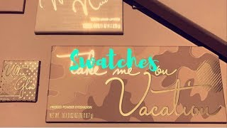 SWATCHES: Kyle Cosmetics Take Me On Vacation, Skinny Dip and Ultra Glow