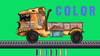 kids tv channel | learn colors with tow truck | scary tow trucks for children | Halloween videos