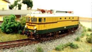 Acme lokomotiva SŽ 342-004 test 2