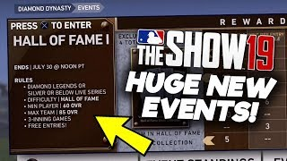 HALL OF FAME EVENT! TWO Signature Series Rewards! MLB The Show 19 Diamond Dynasty