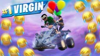 We made a FLYING ATV in Fortnite: Battle Royale 🎈