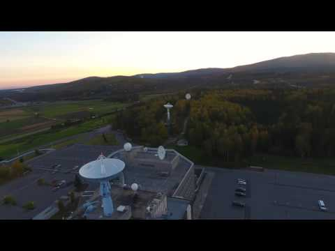 Droning Around the UAF Campus