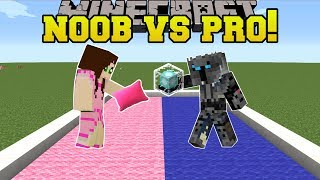 Minecraft: NOOB VS PRO!!! - PILLOW FIGHT! - Mini-Game