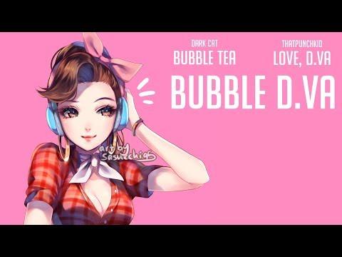 """""""Bubble D.Va""""   Love D.Va + Bubble tea [Full song]"""