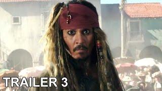 Piratas del Caribe 5: La Venganza de Salazar - Trailer 3 Subtitulado Español Latino 2017