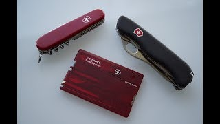 Victorinox SwissCard Classic   Pocket Knife   Multi-Tool   Great Gift For Men   EDC   Review  