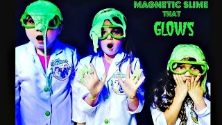 How to Make Magnetic Slime - Science Experiment for Kids