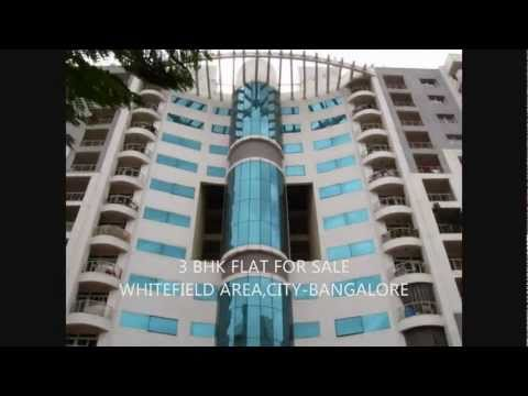 3 BHK FLAT FOR SALE AT WHITEFIELD,BANGALORE.wmv