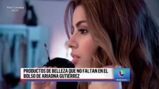 Ariadna Gutiérrez revela la parte de su cuerpo que menos le gusta.