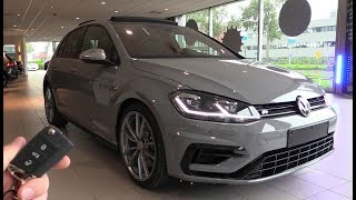 INSIDE the Volkswagen Golf R 2018 | Akrapovic SOUND In Depth Review Interior Exterior