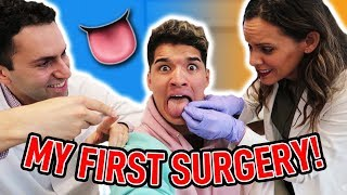 Getting My TONGUE REMOVED! (Not Clickbait)