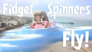 Fidget Spinners FLY IN SEARCH OF GOLD!!! (Part 2)