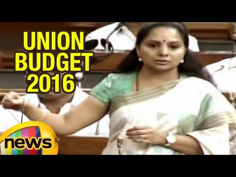 MP Kavitha, Arun Jaitley Discusses On Union Budget 2016 In Parlaiment | Mango News