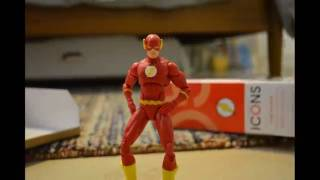 THE FLASH Action Figure Stop Motion Short BURT ANIMATIONS