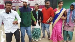 Santhali chain dance bokaro
