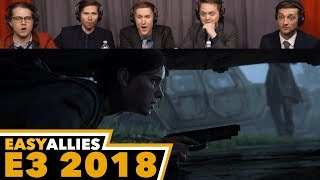 PlayStation Media Briefing - Easy Allies Reactions - E3 2018